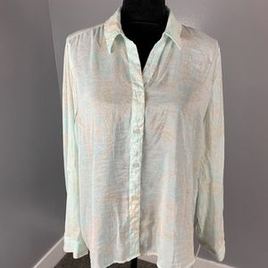 Chico's, button down top, size 2